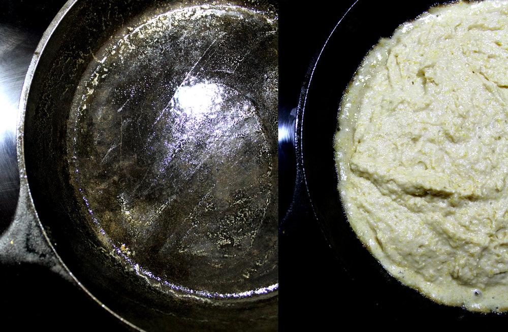 the trick to crispy cornbread