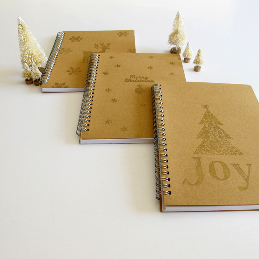 make custom notebooks for Christmas gifts this year