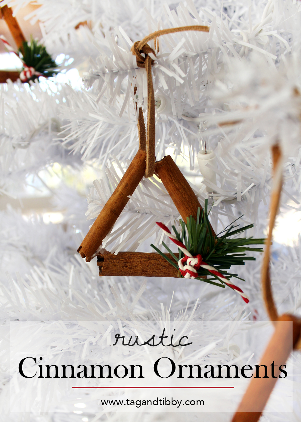 easy to make cinnamon stick ornaments tutorial