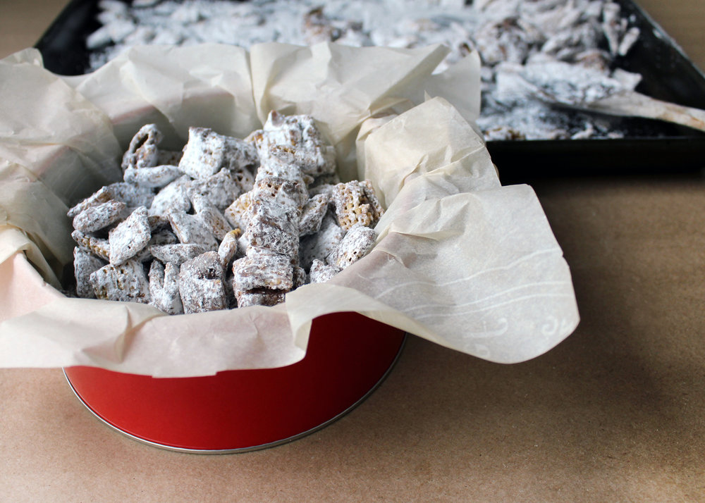 how to make cookie butter muddy buddies
