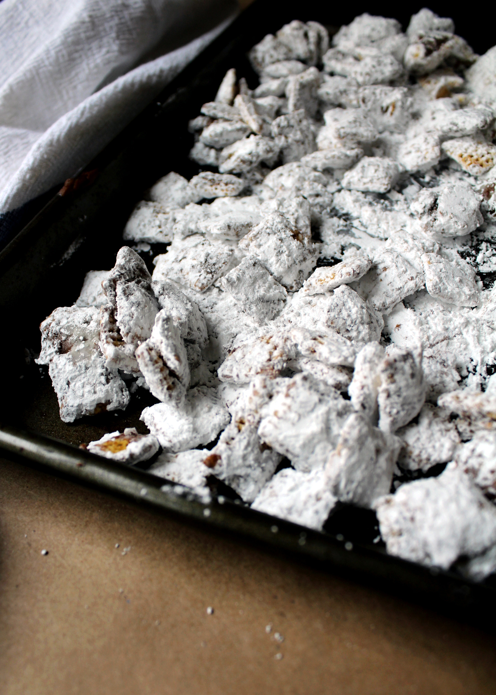 cookie butter muddy buddies aka puppy chow