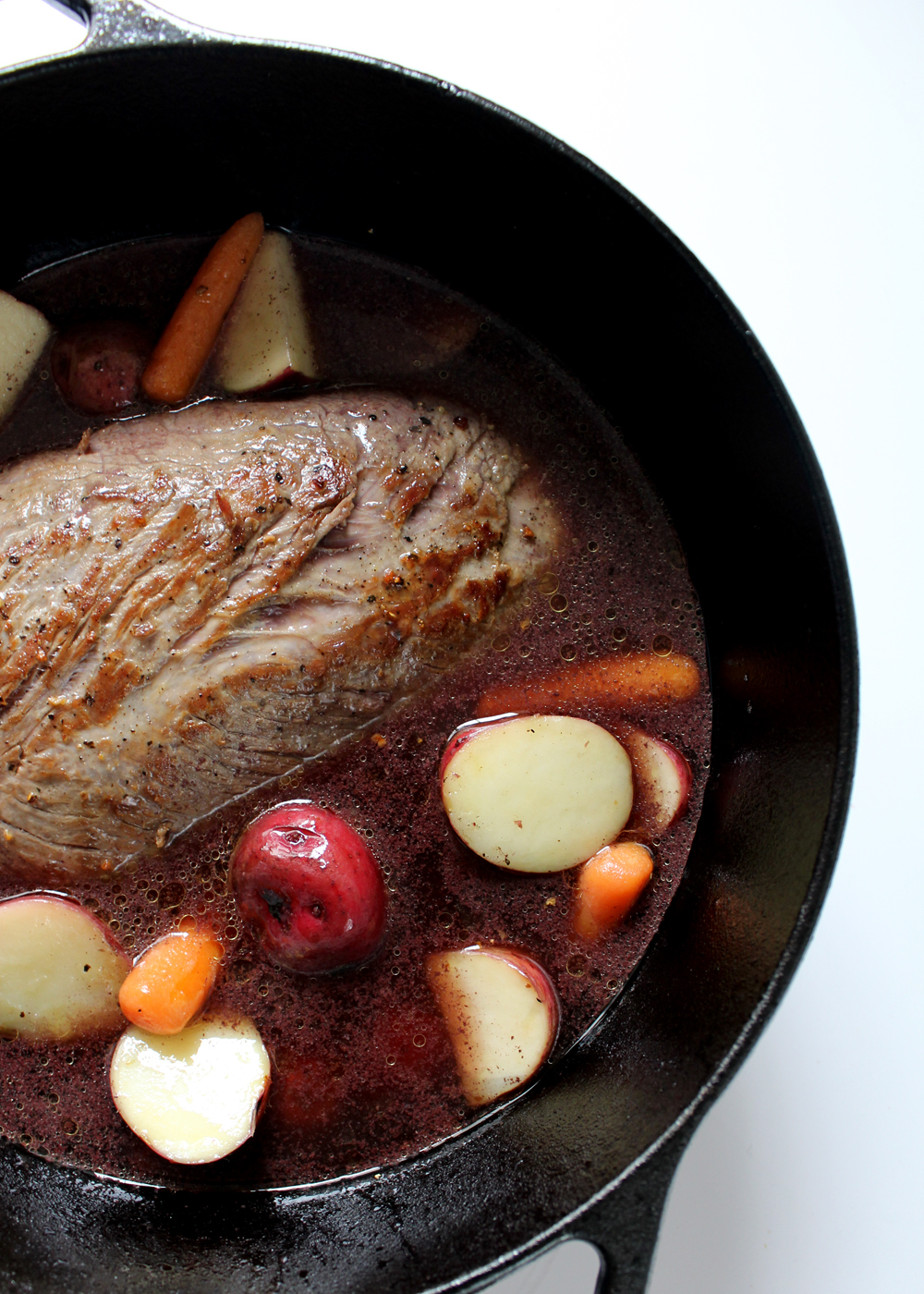 how to make a classic pot roast--ready for the oven