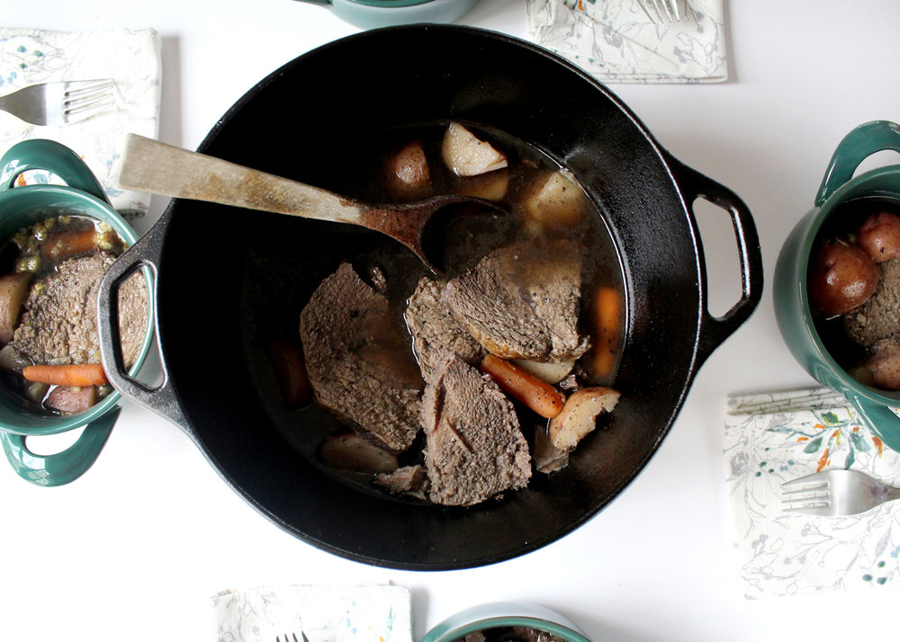 One-Pot Classic Pot Roast Recipe