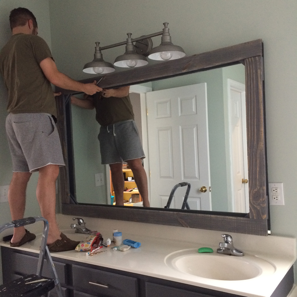 Master Bathroom Update On A $300 Budget — Tag & Tibby Design