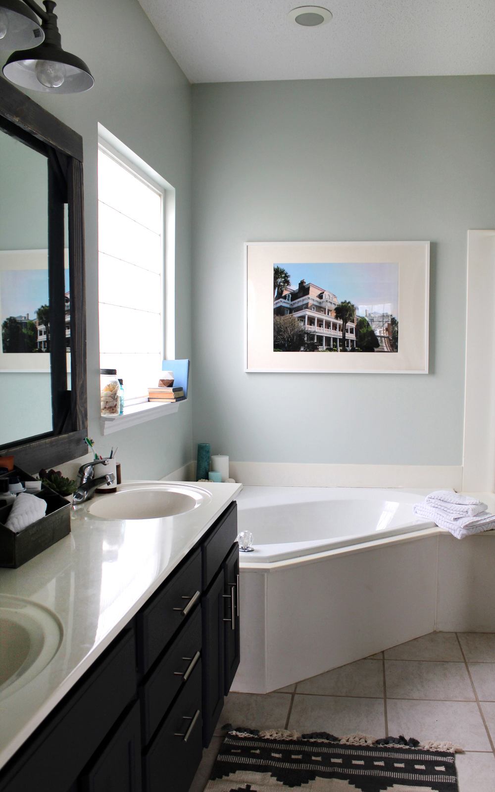 How To Update Your Master Bathroom For $300