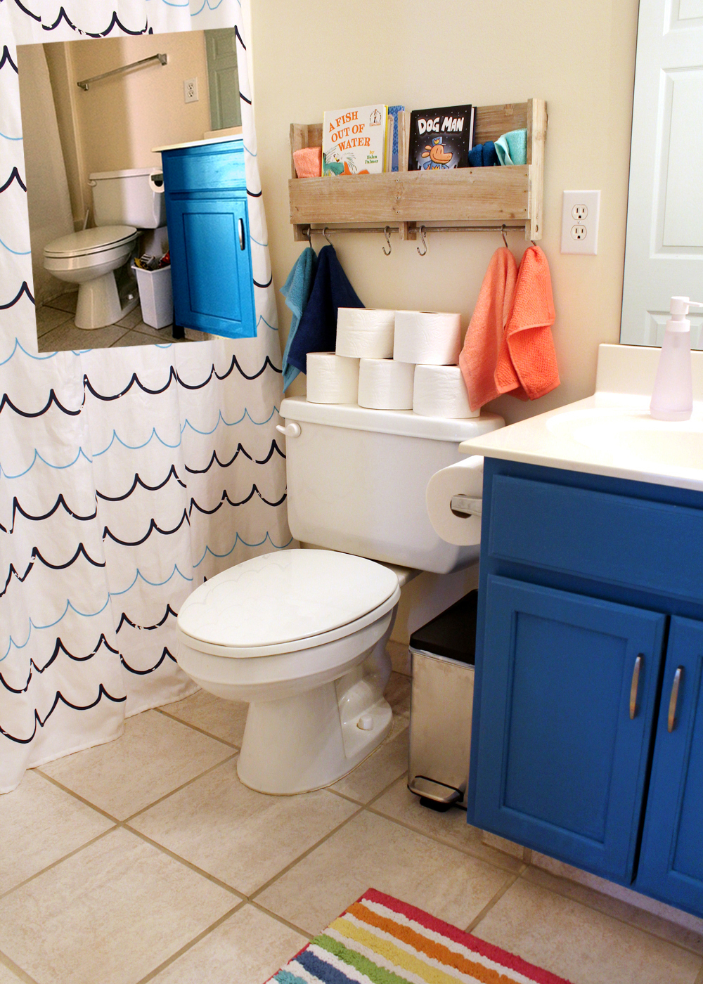 4 Ways to Give Your Bathroom a Refresh (Before + After)