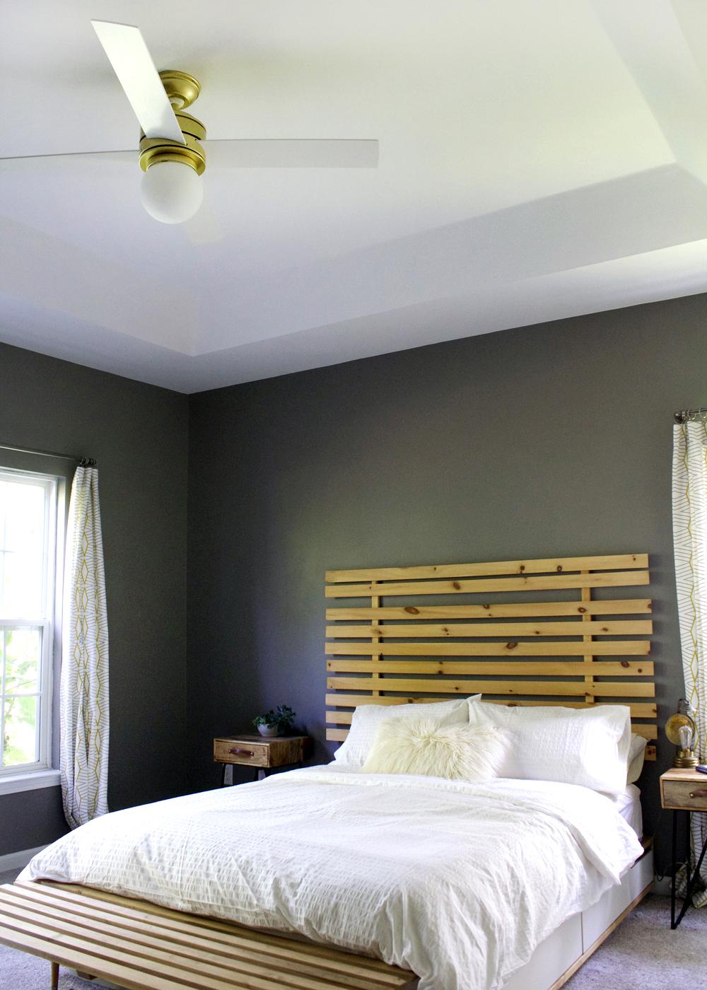 Hunter Fan Hepburn: A Modern Ceiling Fan Upgrade For Under $200 | Tagu0026tibby