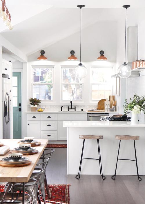 paint the cabinets | via I Spy DIY