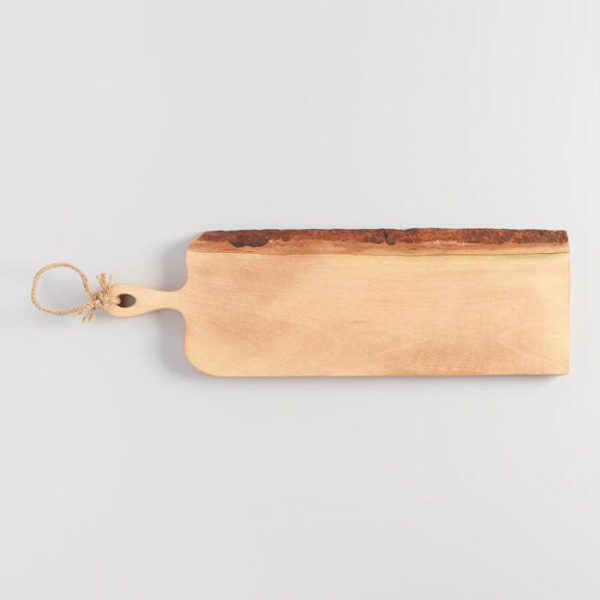 Raw Edge Wood Paddle