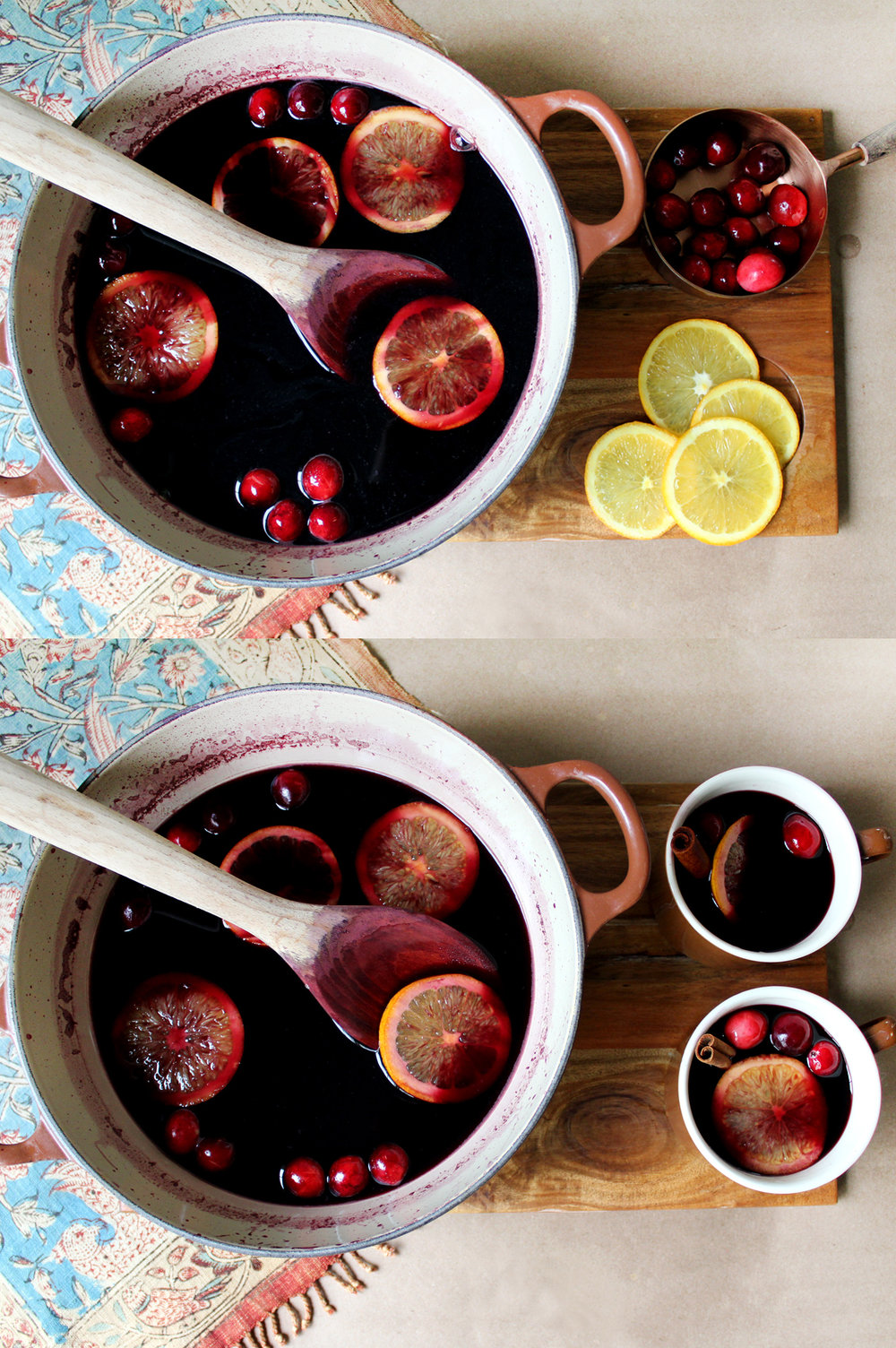 learn how to make gluehwein! a warm, spiced wine