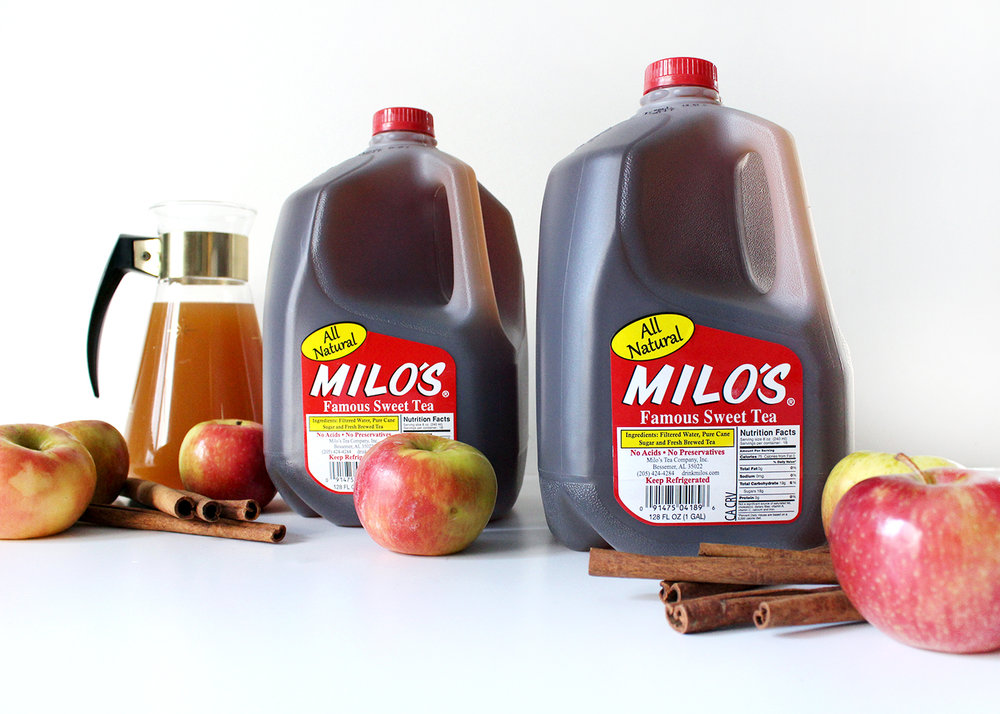 how to make hot cinnamon cider tea with Milo's Tea #PassTheMilos#Pmedia #ad