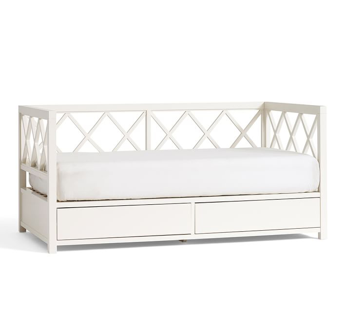 Clara Lattice Daybed, $1299