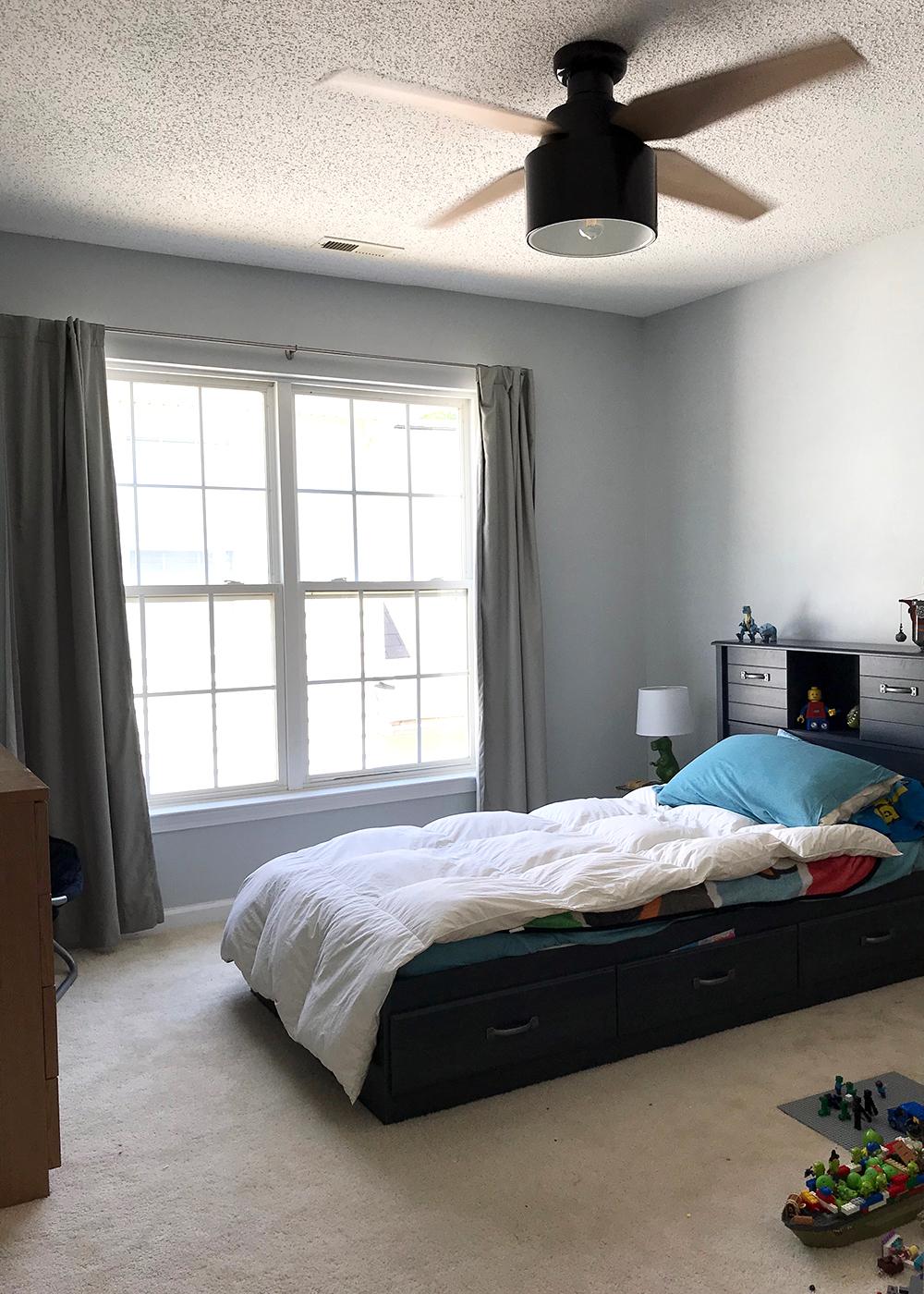 Boy's room in SW Misty with Cranbrook fan