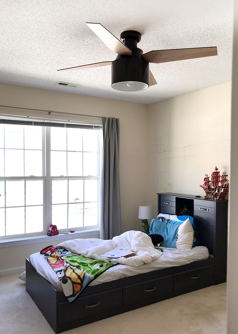 Loving the new ceiling fan