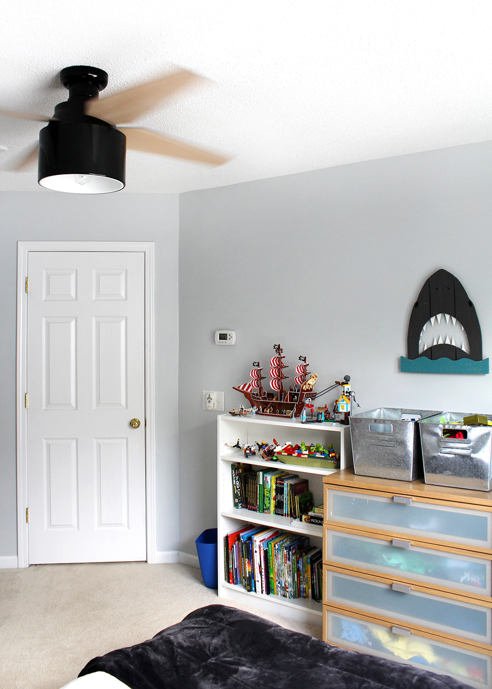 boy's bedroom makeover for a preteen