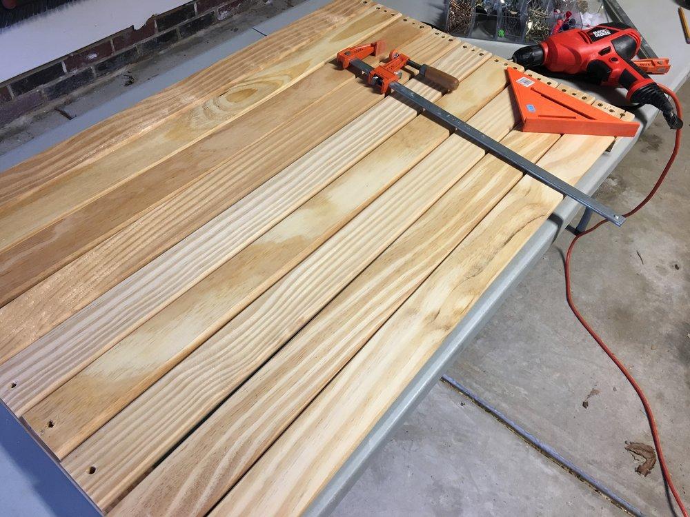 Desk in progress (part 2)