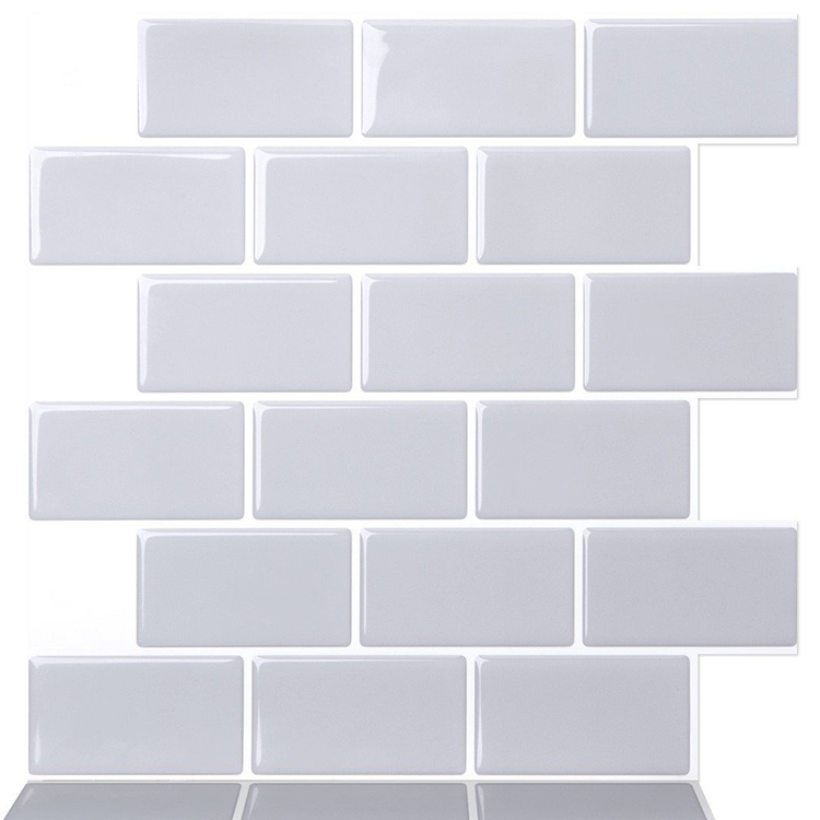 Gray Peel Stick Tile