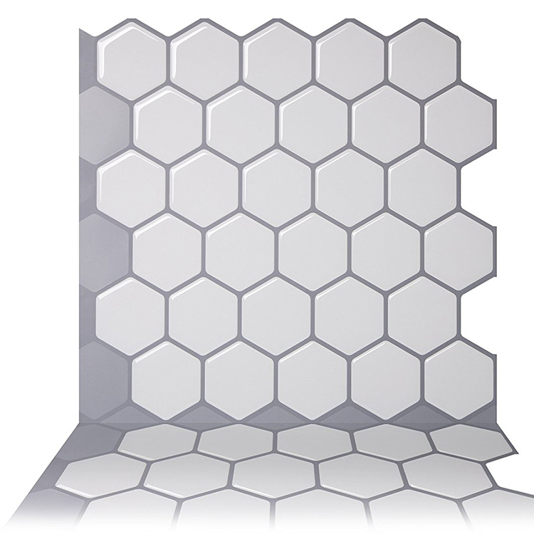 Hexagon Peel Stick Tile