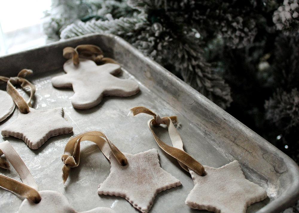 How to Make Salt Dough Ornaments With Cinnamon & Maple Ginger Tea