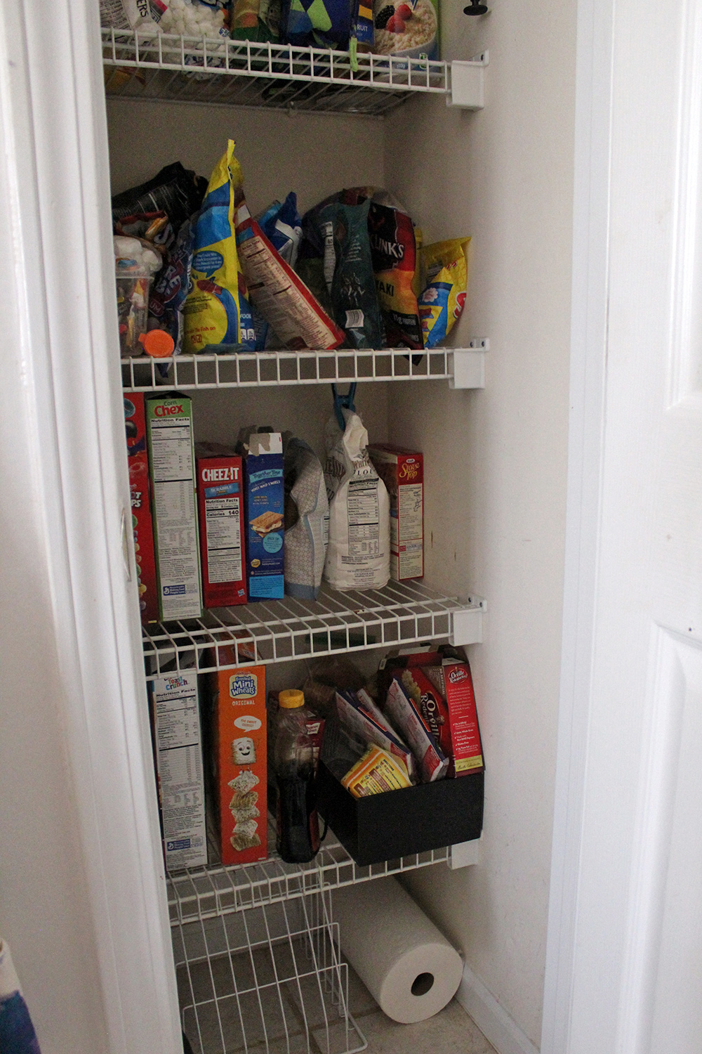 before of our pantry, so embarrassing!