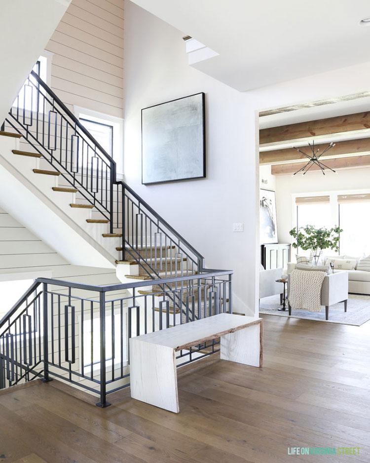 Modern Staircase. Inspiration Source: Life on Virginia Street
