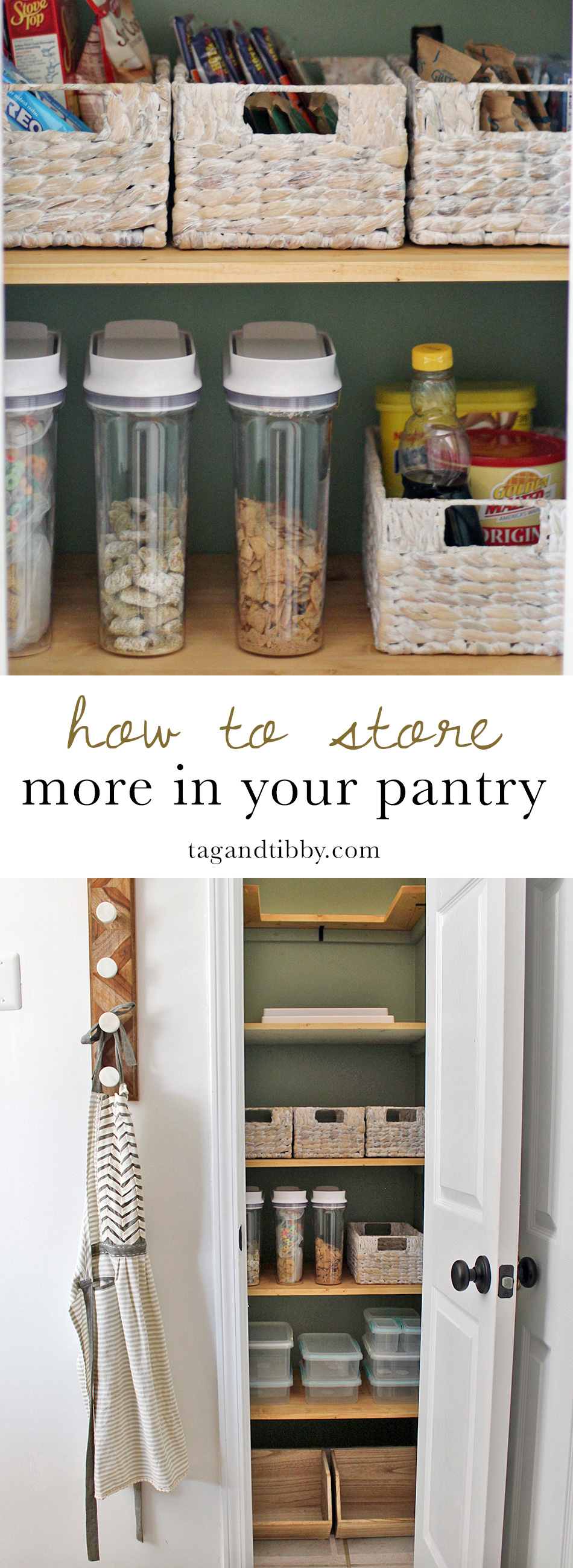 practical tips for storing more in a small kitchen pantry on a budget