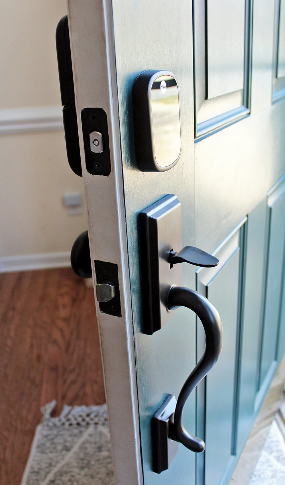 why we installed a keyless electronic door lock in our home
