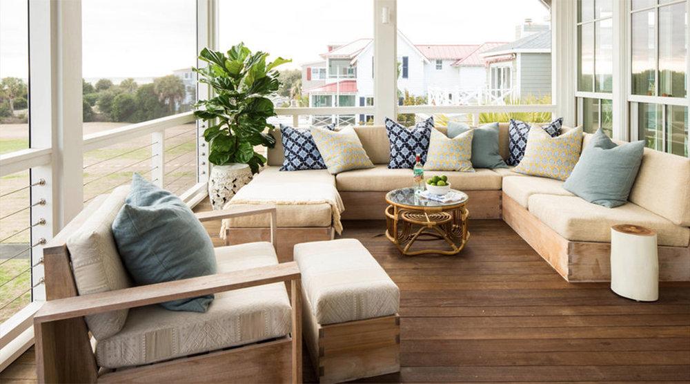 Warm, Breezy Screened In Porch: Coastal Living, Laurey Glenn, Stylist Heather Chadduck Hillegas