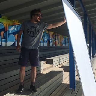 Lastolite 3x3 meter olasphoto umeå