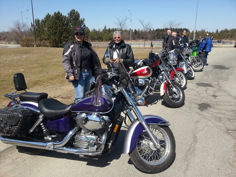 April 12, 2015 First ride of the year!