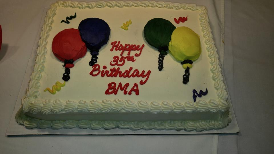 Happy birthday BMA!