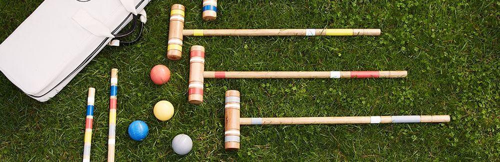 Croquet Set,  Crate & Barrel