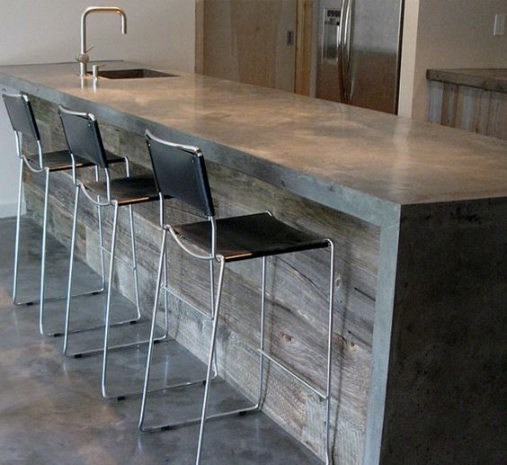 Concrete Countertop - Source: Pinterest