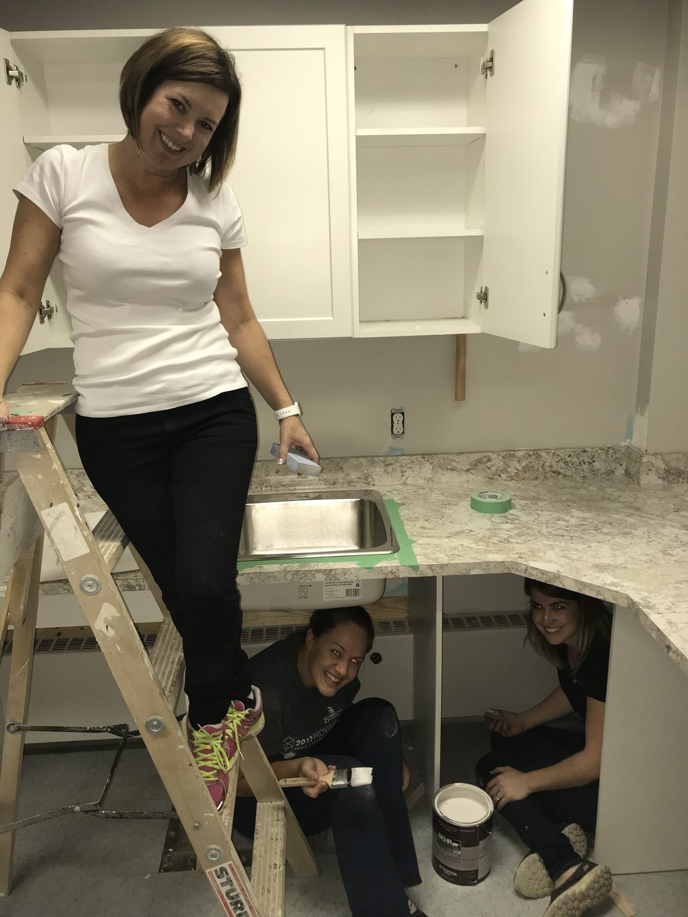 Working alongside the amazing floform ladies