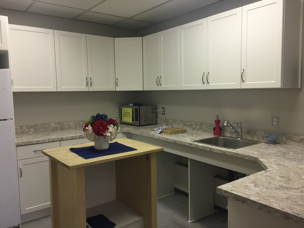 The completed Kitchen