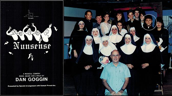 Nunsense program and cast/production photo.