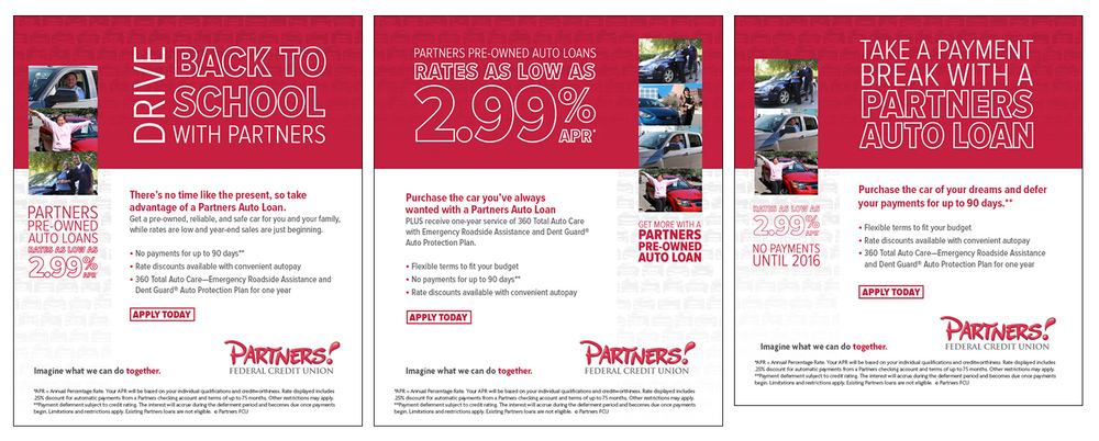 Accompanying emails for pre-owned vehicle offer