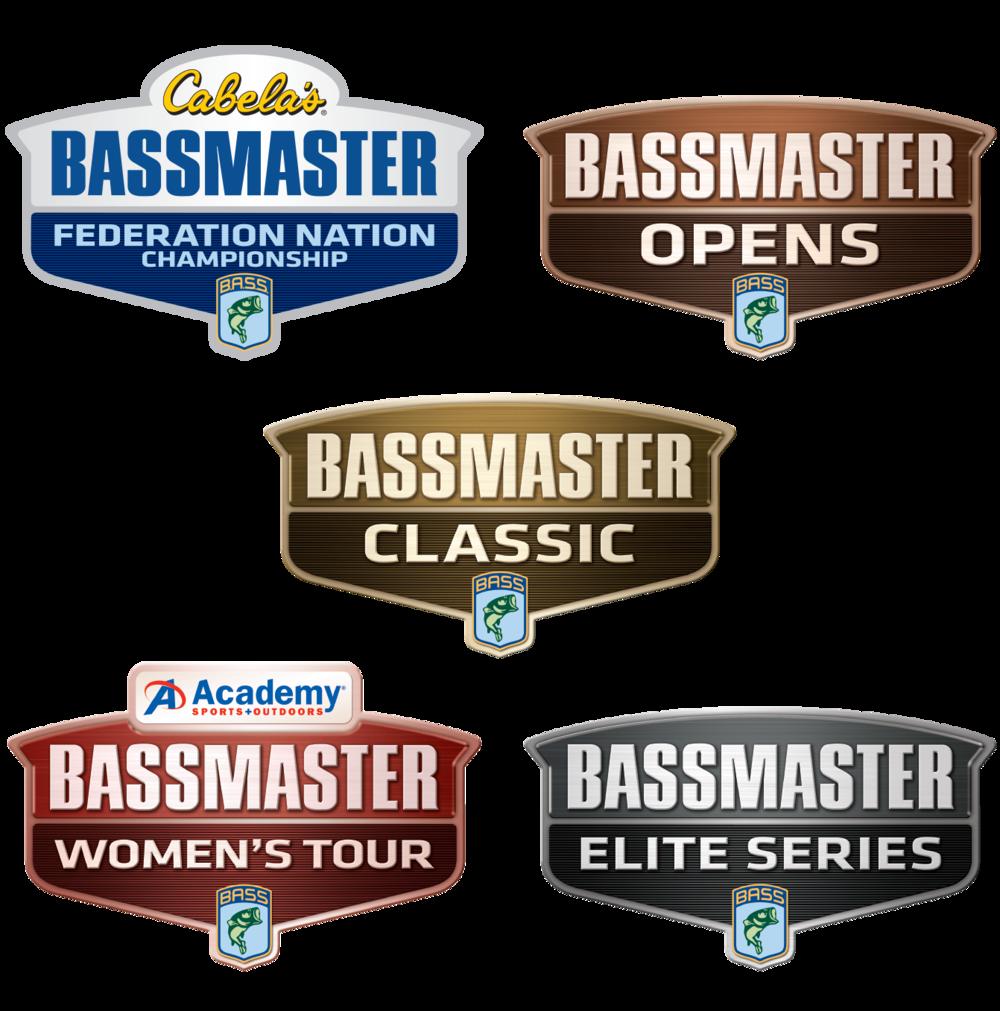 Bassmaster Tournament marks after brand refresh.