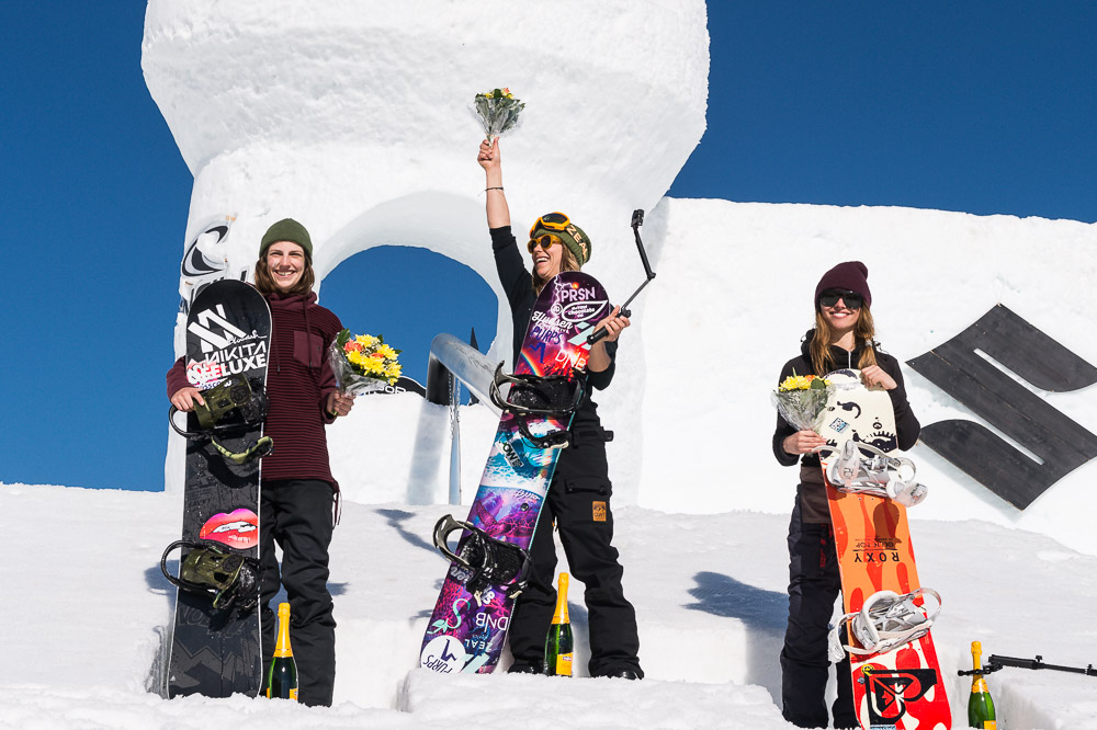 Kjersti walked away with 3 podium wins during the 2015 Nine Queens in Serfaus, Austria