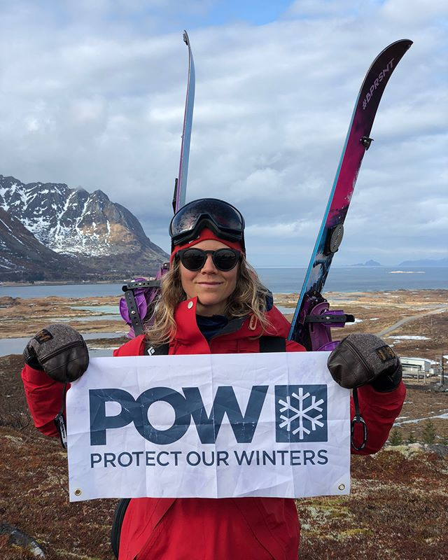 ❤️❄️ I love being outdoors & aim to help protect our natural playgrounds as much as I can, so future generations can enjoy it too 🌎 During @bprsnt womens adventure retreat in #lofoten 🇳🇴 last week I brought this flag out with me on one of our hikes. I was so excited that the ladies jumped in and was proud and felt connected to supporting this important cause. During the week we saw rapid snow melt and on this day we had to hike with our boards on our backs for a while before we found snow. I experience that temperatures are getting warmer and seasons are getting shorter in the places I go. Whether we have a large, medium or small stage, we are all role models for someone in our life's. Remember that when you think your voice does not matter... ❤️p#rotectourwinters #protectourwintersnorge #prsnt #bprsnt #womensadventureretreat #lofoten #norway #splitboarding #mountains #winter #takecareofplanetearth #shorterwinters #nonprofit #nonprofitorganization #women #support | P: @bprsnt & @northernalpineguides
