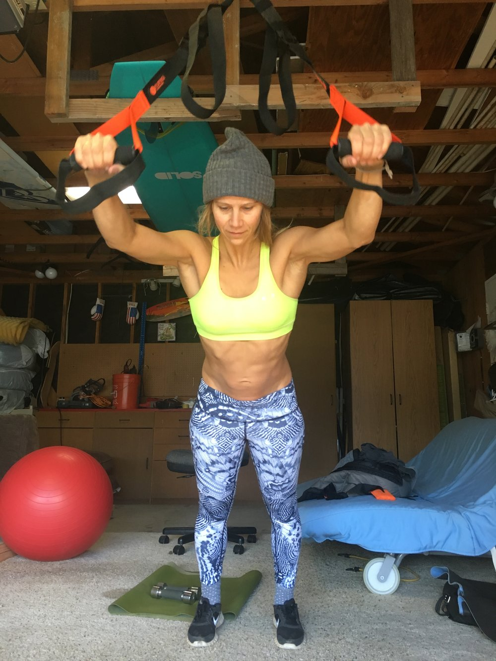 KJERSTI BUAAS GARAGE WORKOUT