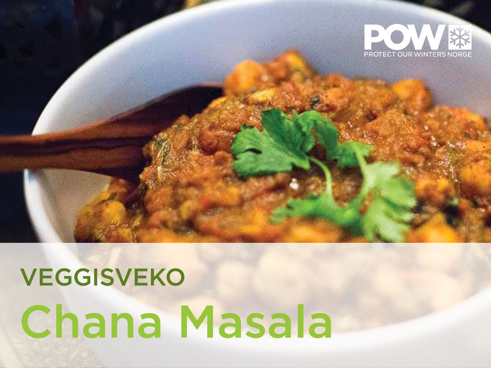 Chana Masala 1-2 servings
