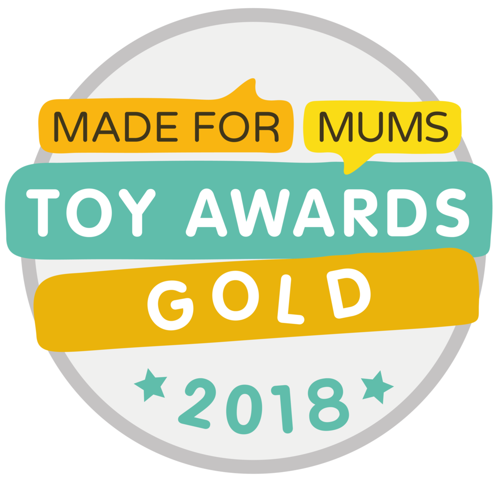 Made for Mums Toy Awards Gold 2018