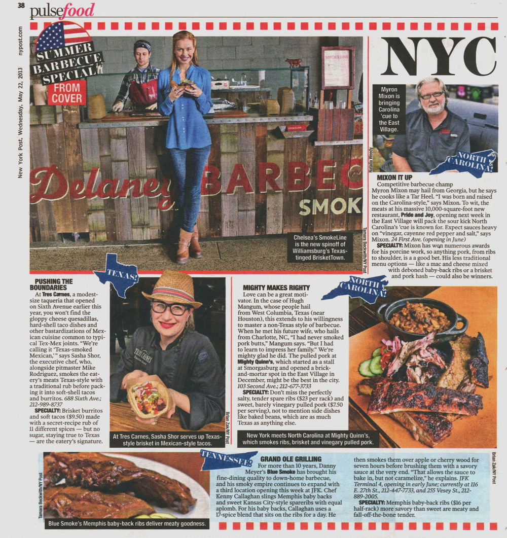 Pushing th Boundaries_Sasha Shor_New York Post Page 6_05-22-2013.jpg