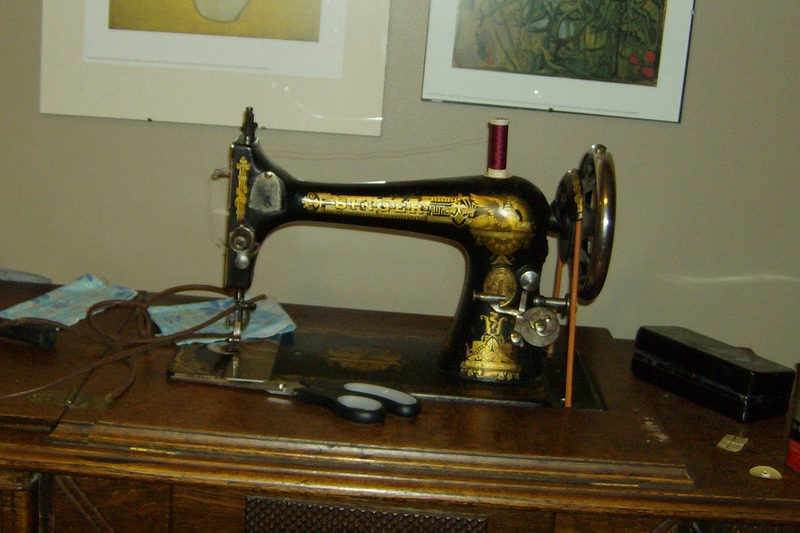 My Great-grandmother's sewing machine