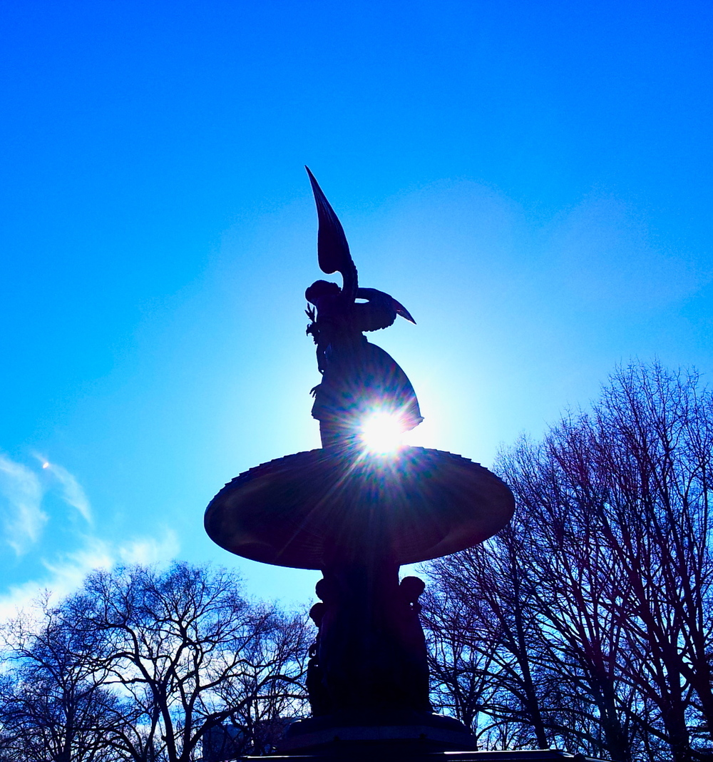 The Angel of the Waters of Bethesda in Central Park