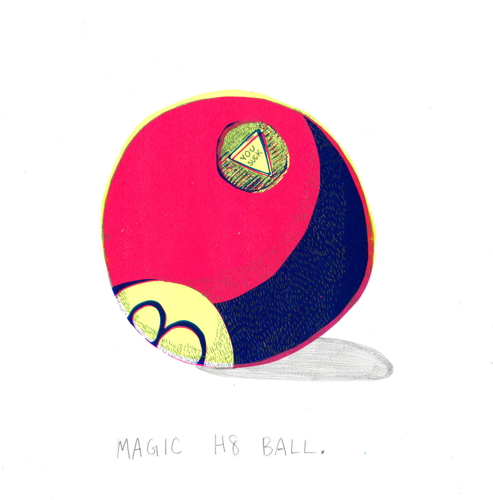 Fortunes for Pessimists: Magic H8 Ball