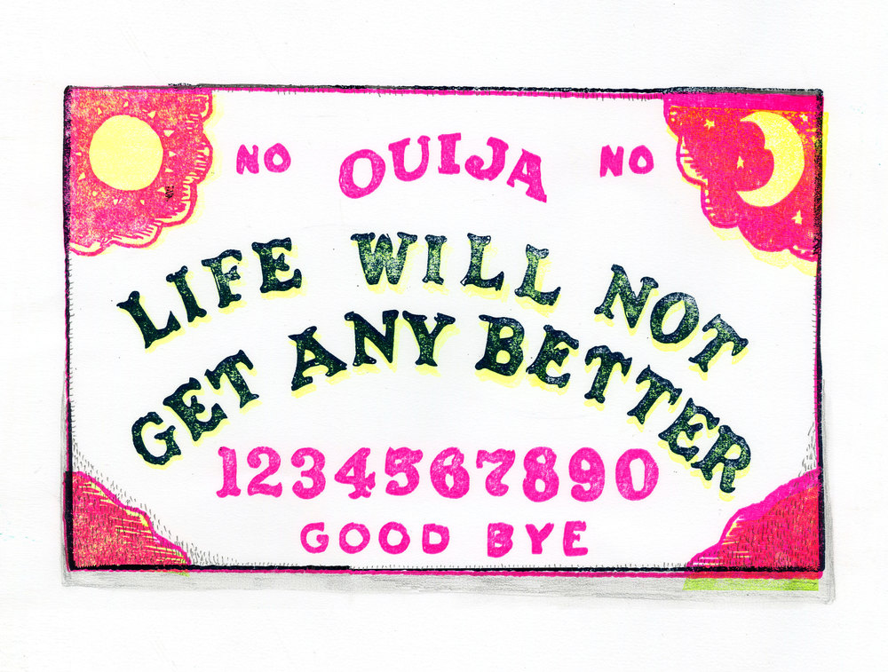 Fortunes For Pessimists: Ouija (2016)