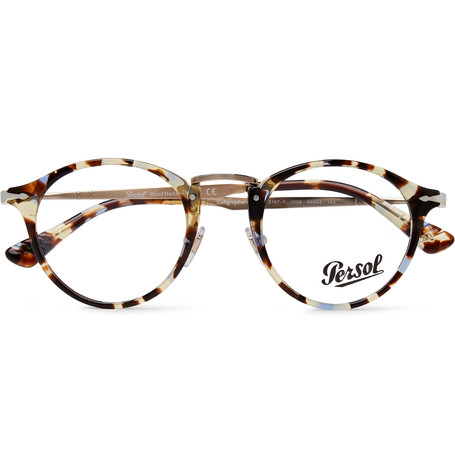 Round-Frame Tortoiseshell Acetate And Gold-Tone Optical Glasses.jpg
