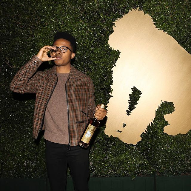 Having a blast and sipping on @selvareyrum at #24kmagic VIP pre-show last night! #selvarey #brunomars